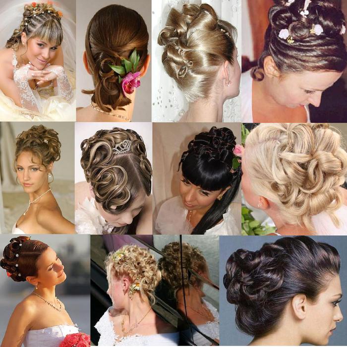 Причёски на свадьбу для начинающих